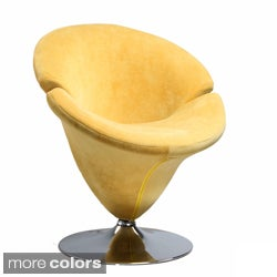 Tulip Microfiber Leisure Chair