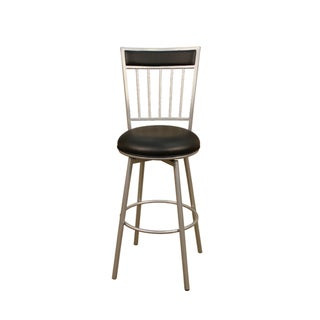 Luna 24-inch Swivel Counter Stool