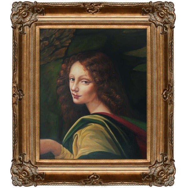 Leonardo Da Vinci 'The Virgin of the Rocks' Canvas Art