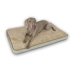 K&H Mocha 23x35-inch Medium Memory Pet Sleeper