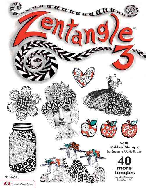 Zentangle 3: With Rubber Stamps (Paperback)