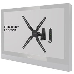 Level Mount Full Motion Single Arm 10 to 30-inch TV Mount