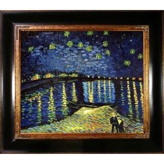 Van Gogh 'Starry Night Over the Rhone' Canvas Art