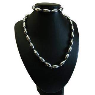 Silver Hematite 2-piece Set
