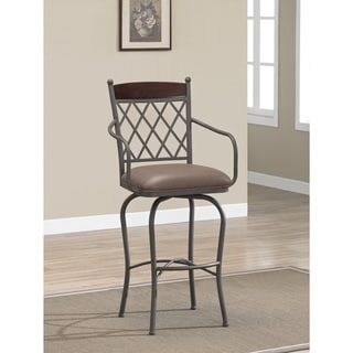 Santa Clara 24-inch Swivel Counter Stool