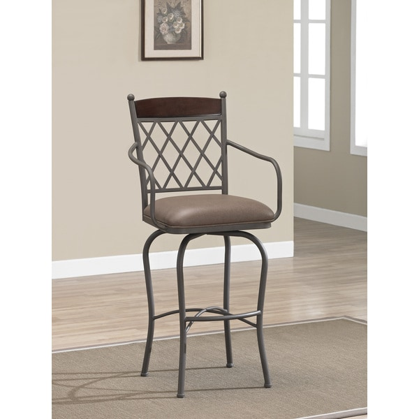 Santa Clara 34-inch Swivel Bar Stool