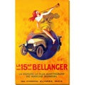 Leonetto Cappiello 'Bellanger' Gallery Wrapped Canvas Art