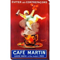 Leonetto Cappiello 'Cafe Martin' Oversized Gallery Wrapped Canvas Print