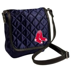 Boston Red Sox Quilted 7-inch Messenger Bag