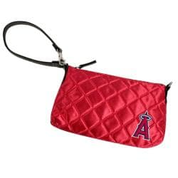 MLB Los Angeles Angels Quilted Wristlet