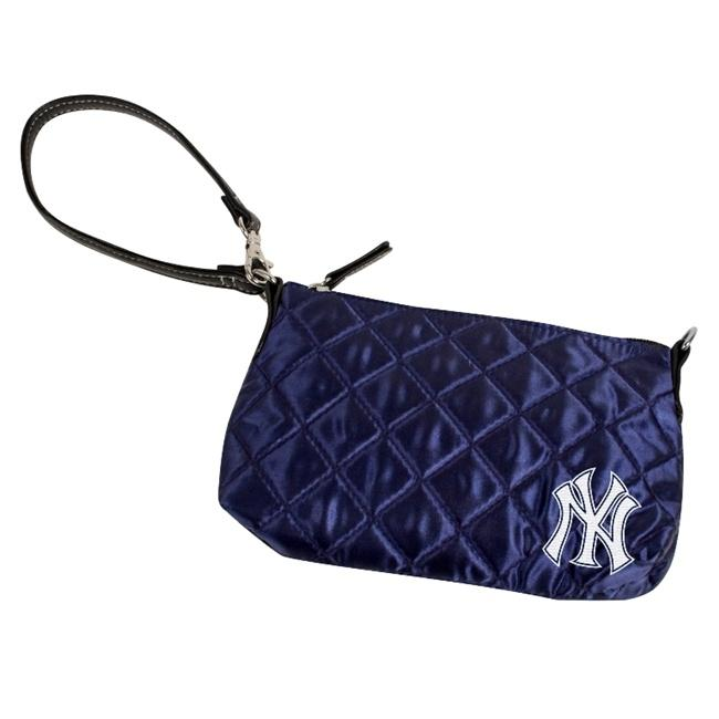 New York Yankees Quilted Wristlet