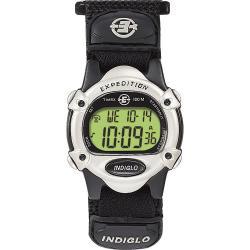 Timex Unisex T47852 Expedition Digital CAT Black Fast Wrap Velcro Strap Watch