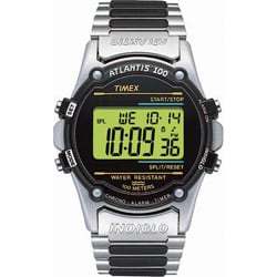 Timex Men's T77517 Atlantis 100 Stainless Steel Bracelet Watch