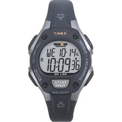 Timex Unisex T5E961 Ironman Traditional 30-Lap Black/Grey Watch