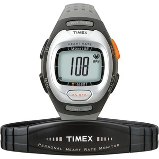 Timex Unisex T5G971 Personal Trainer Heart Rate Monitor Grey Watch
