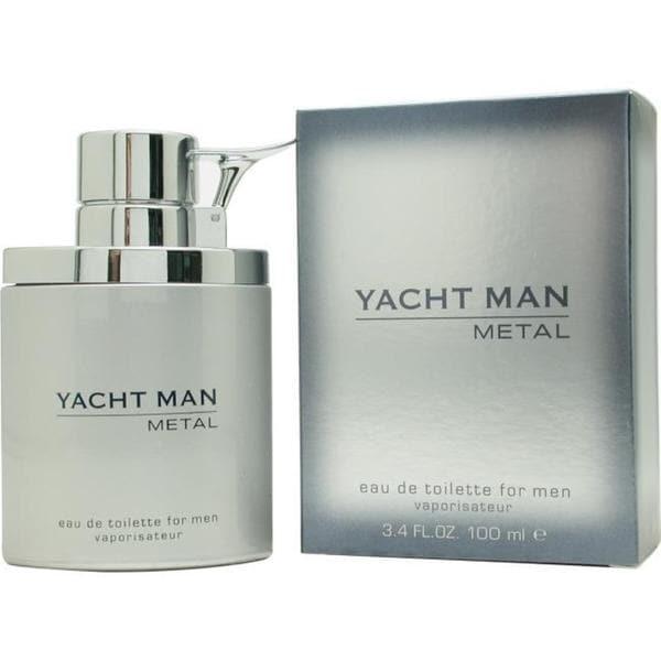 Myrurgia Yacht Man Metal Men's 3.4-ounce Eau de Toilette Spray