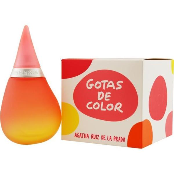 Agatha Ruiz de La Prada Gotas de Color Women's 3.4-ounce Eau de Toilette Spray
