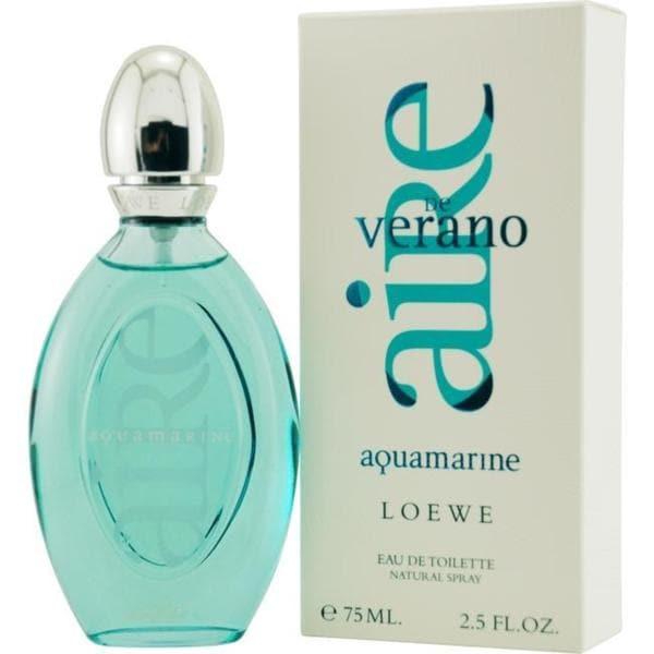 Loewe Aire de Verano Aquamarine Women's 2.5-ounce Eau de Toilette Spray
