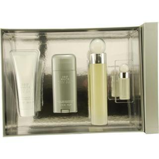 Perry Ellis 'Perry Ellis 360 White' Men's Four-piece Fragrance Set