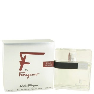 Salvatore Ferragamo F By Ferragamo Men's 3.4-ounce Eau de Toilette Spray