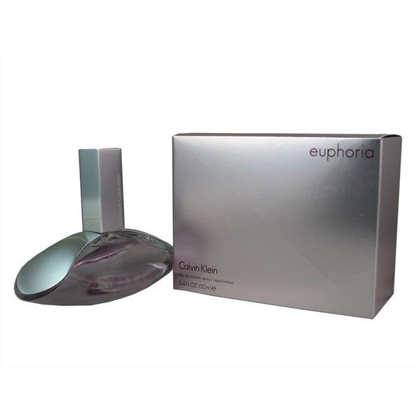 Calvin Klein Euphoria Women's 3.4-ounce Eau de Toilette Spray