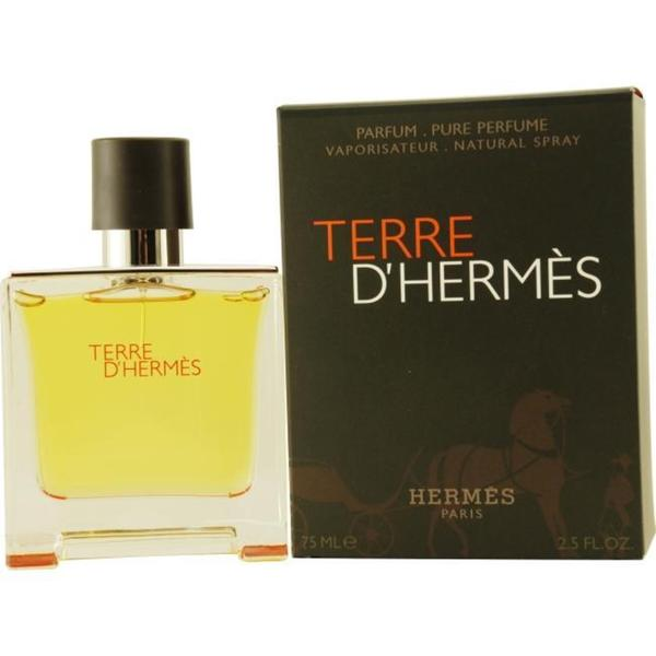 Hermes Terre Dhermes Men's 2.5-ounce Parfum Spray