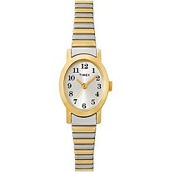 Timex Women's T2M570 Cavatina Stainless Steel Expansion Band Watch