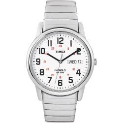 Timex T2N0919J Men's Easy Reader Stainless Steel Expansion Band Watch