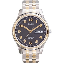 Timex T2N0939J Men's Elevated Classics Dress Stainless Steel Expansion Band Watch