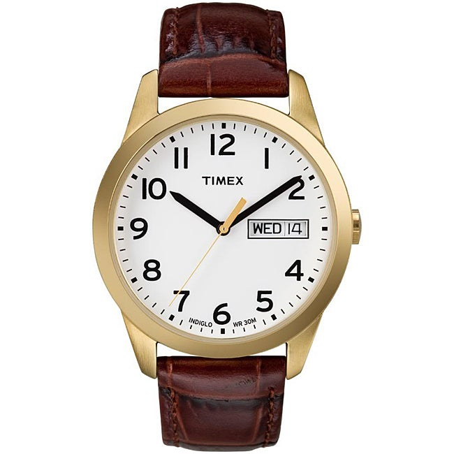Buy Timex Men's T2N Weekender Classic Casual Olive Leather Strap Watch and other Wrist Watches at mennopoolbi.gq Our wide selection is eligible for free shipping and free returns.