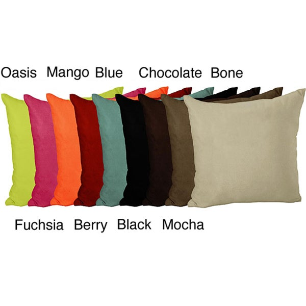 Jovi Home Suede Decorative Pillow
