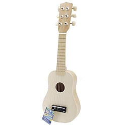 Musical Instrument 20-inch Unpainted Guitar