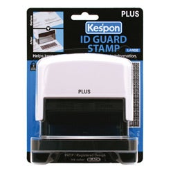 Kes'pon Large White ID Guard Stamp