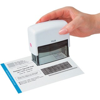 Kes'pon Large White ID Guard Stamp