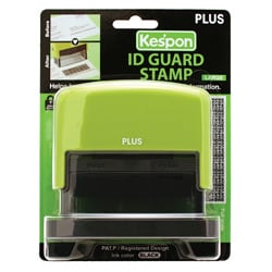Kes'pon Large Green ID Guard Stamp