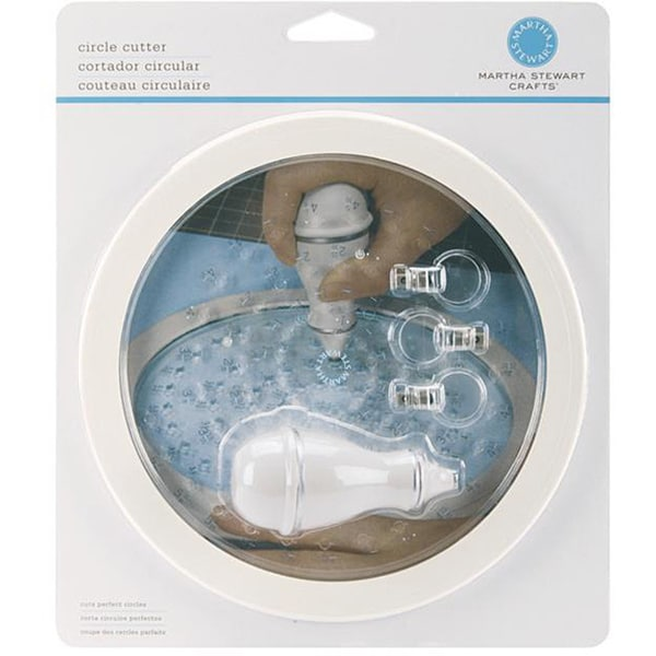 Martha Stewart Simple 3-blade Circle Cutter