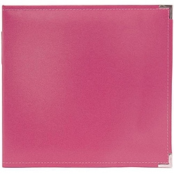 We R Memory Keepers Faux-Leather Strawberry Three-Ring Binder Scrapbook Album