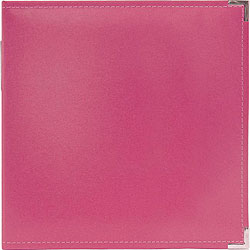 We R Memory Keepers Faux Leather Strawberry 3-ring Binder