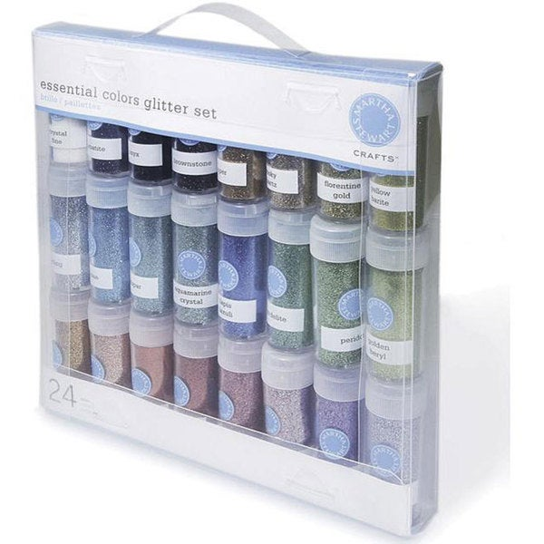 Martha Stewart Essential Colors Glitter (Pack of 24)