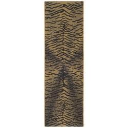 "Poolside Indoor/Outdoor Black/Natural Runner (2'2"" x 9'11"")"