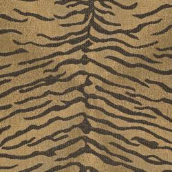 Modern Indoor/Outdoor Gold/Natural Rug (4' x 5'7