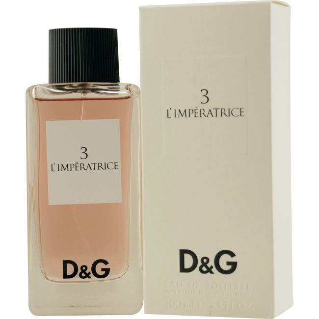 Dolce & Gabbana 3 Limperatrice Women's 3.3-ounce Eau de Toilette Spray