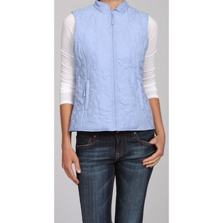 Nuage Women's 'Montreal' Quilted Poly Vest