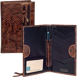 Tour One 'Python Print' Leather Wallet