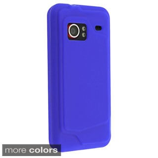 INSTEN Soft Silicone Skin Phone Case Cover for HTC Droid Incredible