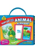 Animals Alphabet: Ages 3 - 6 (Cards)