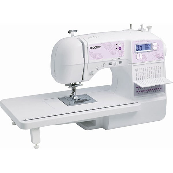 Brother Sq9000 Computerized Sewing Machine W Alphabet