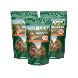 Green Dog 10.5-oz Smoked Salmon Nuggets (Pack of 3)