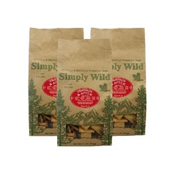 Simply Wild 1-lbs Venison and Apple Dog Treats (Pack of 3)