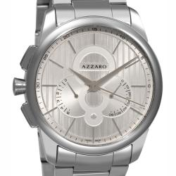 Azzaro Men's 'Legend Chrono' Steel Retrograde Chronograph Watch